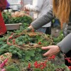Wreath making at your local nursery