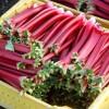 Rhubarb: Tart take on the cake