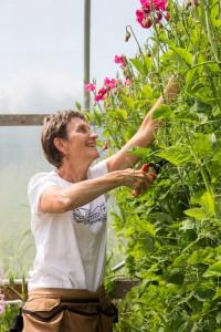 Vivian Larson of Everyday Flowers in Stanwood. PHOTO BY JESSAMYN TUTTLE