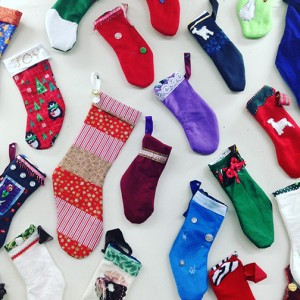 Ragfinery's Stocking Project offers anyone interested in bringing material and sewing supplies to create a stocking and donate to a child or family in need this holiday season. COURTESY PHOTO